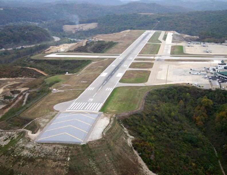 Emas Installation Yeager Airport West Virginia Usa